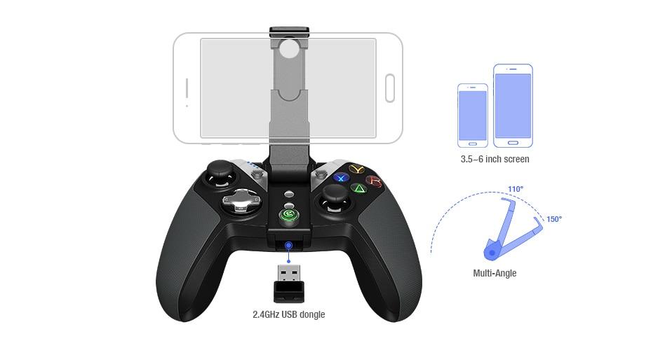 GameSir G4s Bluetooth Gamepad (4)