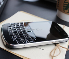 unlocked Original Blackberry 9900 Mobile Phone QWERTY keyboard without camera version , Free shipping(Hong Kong,China)