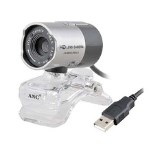 Aoni ANC Web Camera Desktop/Laptop PC Computer Night Vision Webcam USB Free Driver HD Camera With Microphone Web Cam Webcamera(China)
