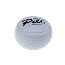 10pcs/pack Two Layer Training Driving Range flat Golf Balls pelotas ballen bolas de Golf Balls free shipping(China)