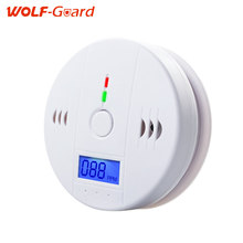 Sensitivety LCD Digital Screen Independent Carbon Monoxide Detector for Test CO Gas Leak Detector 85dB Indoor Alarm(China)