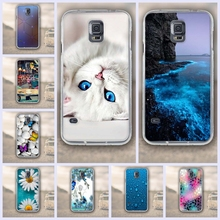 Luxury 3D Relief Case For Samsung S5 i9600 Phone Case Silicone For samsung S5 Soft TPU Cover For Samsung Galaxy S5 I9600 Fundas(China)