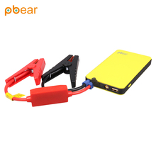 Pbear Multi-Function Car Jump Starter Battery Chager Emergency USB Portable Mobile Phone Power Bank Jump Leads(China)