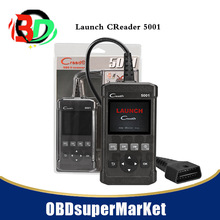 Launch CReader 5001 Code Reader Full OBDII/EOBD Diagnostic Functions Scan Tool(China)