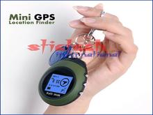 by dhl or ems 10pcs Universal Keychain Design GPS Tracker Tracking Device Pathfinding Locator for Outdoor Travel elevation(China)