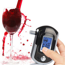 Portable Smart Breath Alcohol Tester Digital LCD Breathalyzer Analyzer AT6000(China)