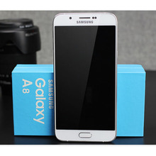 A8 Original Unlocked Samsung Galaxy A8000 Mobile Phone 16.0MP Camera 5.7'' Smart Phone Dual sim card, Free DHL-EMS Shipping