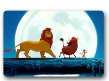 Custom Machine-Washable Lion King Cartoon Door Mat Indoor/Outdoor Decor 40x60cm Rug Doormat Room Decoration