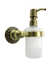 Free shipping brass Antique Bronze soap dispenser holder, liquid soap dispenser, bathroom fittings,bathroom accessories AB011a(China)