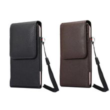 Buy iPhone X Pouch Universal Belt Holster Leather Phone Case Pouch iPhone8/8Plus/7/7Plus Waist Bag iPhone6Plus/S8/Note 8 for $6.66 in AliExpress store