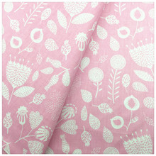 100% cotton tissue pink floral twill Sheet Quilt cover Pillow case cloth manual cloth diy bedding textile apron fabric