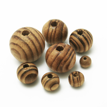 Natural Pine Wood Spacer Oval Round Beads 8mm 10mm 12mm 14mm 16mm 18mm 20mm 24mm for DIY Fashion Child Nipple Crafts Jewelry(China)