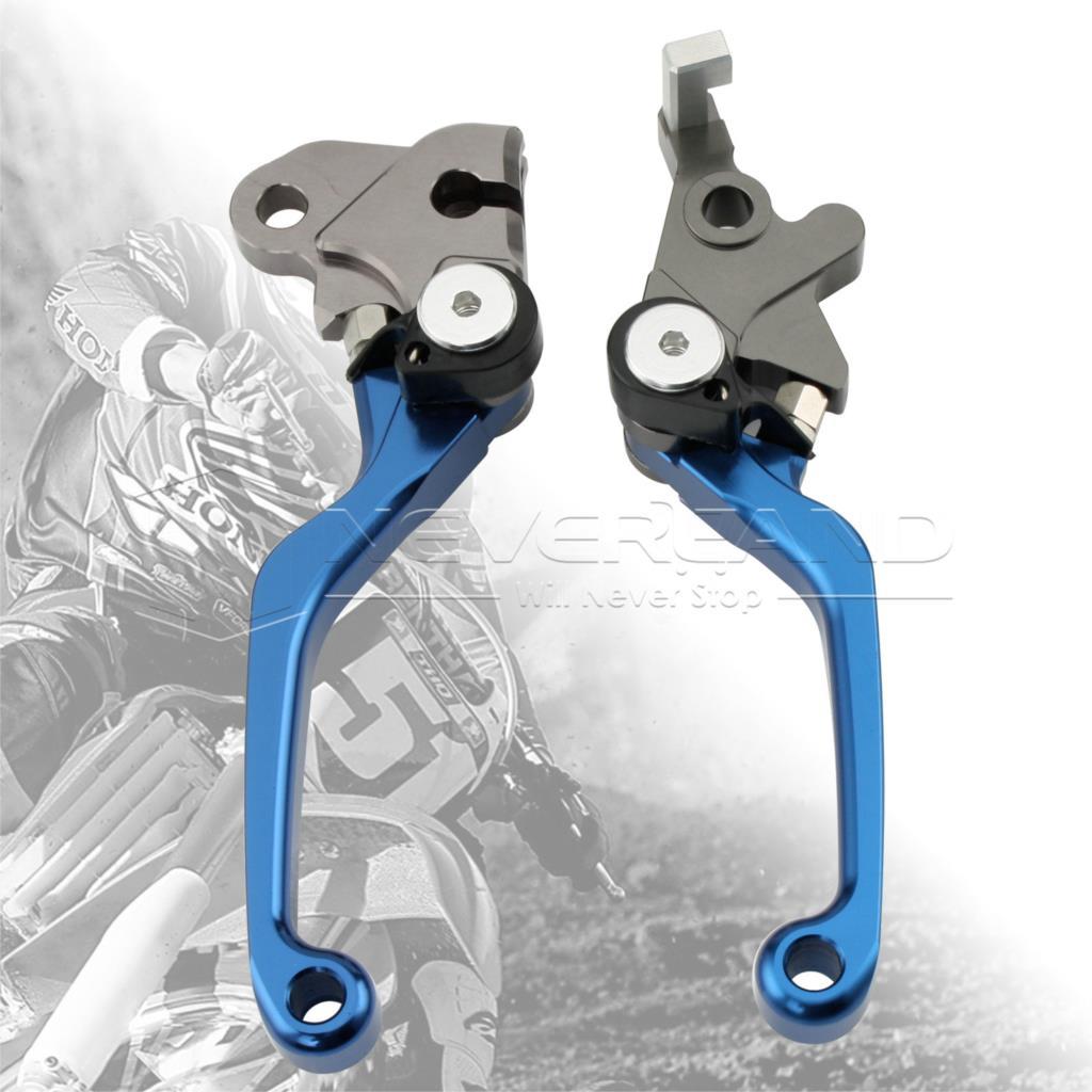 One Pair CNC Pivot Brake Clutch Levers For Honda SL230 1997-2004 XR230/MOTARD 2005-2012 L03K/R05K Blue D10<br><br>Aliexpress