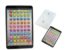 Children's educational simulationp music toys Portuguese& English Language PAD tablet computer learning machine(China)