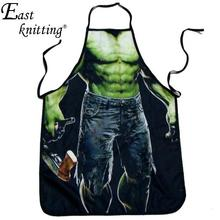Violence Work Wear Novelty Cooking Kitchen Uniforms Food Chef Service F1074 Muscle Man(China)
