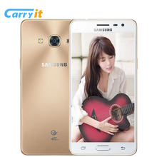 Original Samsung Galaxy J3 Pro J3119s 2G 16G 5.0'' Super AMOLED Mobile phone 2600mAh NFC Three Card Slot 4G LTE 8MP Cell phone(China)