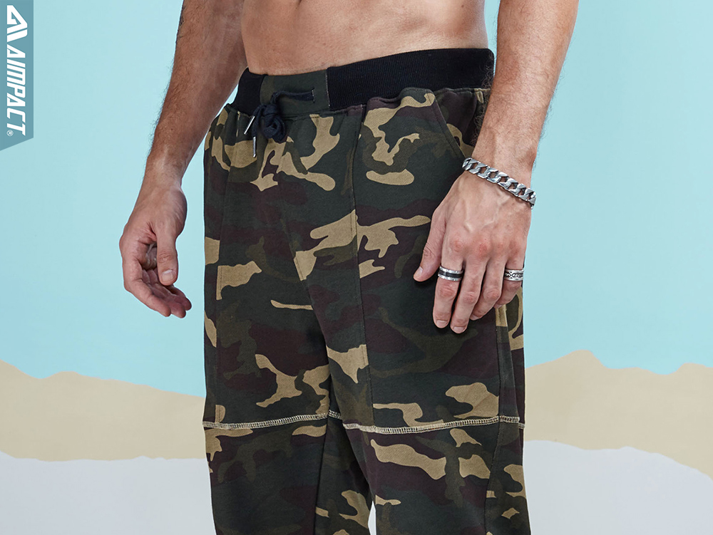Aimpact 2017 New Camouflage Jogger Pants Men Cotton Sweatpants  (4)