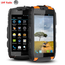 IP68 rugged Waterproof phone Shockproof Android Dual sim VHF Radio phone Walkie talkie UHF S15 MTK6582 GPS 3G NFC S19 CE FCC