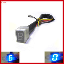 New Led Light Universal 6 Speed Gear Indicator Motorcycle Gear Indicator 0-6 Level  Display