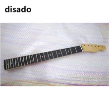 disado 21 Frets maple Electric Guitar Neck rosewood fretboard wood color guitar parts accessories can be customized