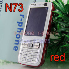 Original Nokia N73 Mobile Phone 3G GSM Bluetooth 3.15MP Unlocked N73 Refurbished SmartPhone English Arabic Russian keyboard(China)