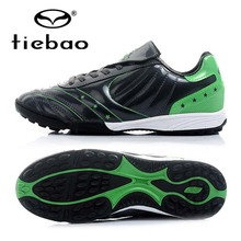 TIEBAO Brand Professional Adult Outdoor TF Turf Soccer Shoes Men Women Football Boots Sports Athletic Training Sneakers Cleats