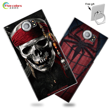 22 Cartoon Pattern Hard Plastic Case Cover For Blackberry Priv Luxury UV Printing Pattern Hard Case For Blackberry Priv(China)