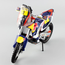 1/12 scale KTM SXF 450 Rally 2014 Dakar RED BULL racing team No.2 Francisco Enduro Motorcycle superbike Model Motocross boys toy