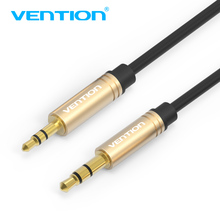 Vention Aux Cable 2.5 to 3.5 Audio cable 3.5mm Jack Male Adapter 50cm 1m 2m Aux Audio Cable For Car Phone SmartPhone Speaker(China)