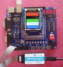Free Shipping!  1pc Altera FPGA development board learning board NIOS with downloader, 1602 LCD screen and power cord