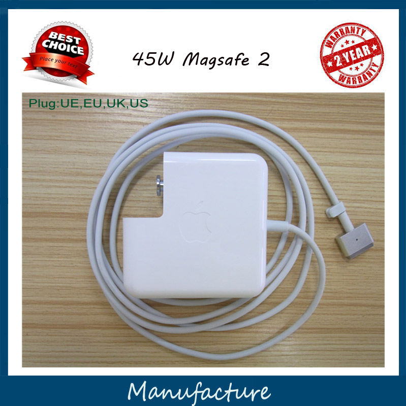 Genuine Original 14.85V 3.05A For Magsafe 2 45W Laptop Power Adapter Charger For apple MacBook Air 11 13 A1465 A1436 A1466<br><br>Aliexpress