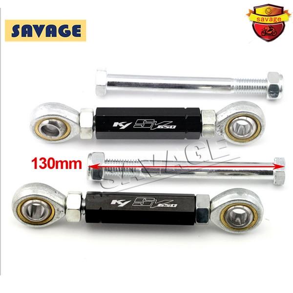 For SUZUKI SV 650 SV650 2000-2010 02 03 04 06 08 09 Motorcycle Rear Adjustable Suspension Drop Link Kits Lowering Links Kit<br>