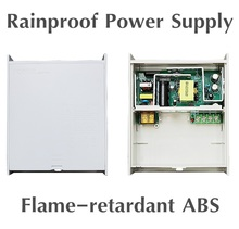12V 5A / 5000mA 60W 2 Channel Outdoor Rainproof Power Adapter Supply for CCTV Camera(China)
