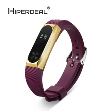 Buy HIPERDEAL Replacement Wristband Band Strap + Metal Case Cover Xiaomi Mi Band 2 Bracelet High Smart Watch Oct10 for $6.15 in AliExpress store