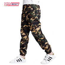4-10Yrs Spring Autumn Pants Teenage Boy Clothing Kids Camouflage Trousers Kid Pants Boys Trousers Camo Pants Boys Military Pants(China)