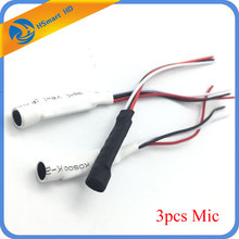 CCTV Mini Microphone for Audio pick up in Wide Range Camera Mic Audio Microphone Security DVR system