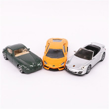SIKU Car Toy, Diecast Metal & ABS Model Cars, 8cm Simulation Mini Sports Car Models, Toys For Children, Boys Gift, Brinquedos