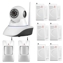 720P Security Network CCTV WIFI IP camera Megapixel HD Wireless Digital Security camera IR Infrared Night Vision(China)