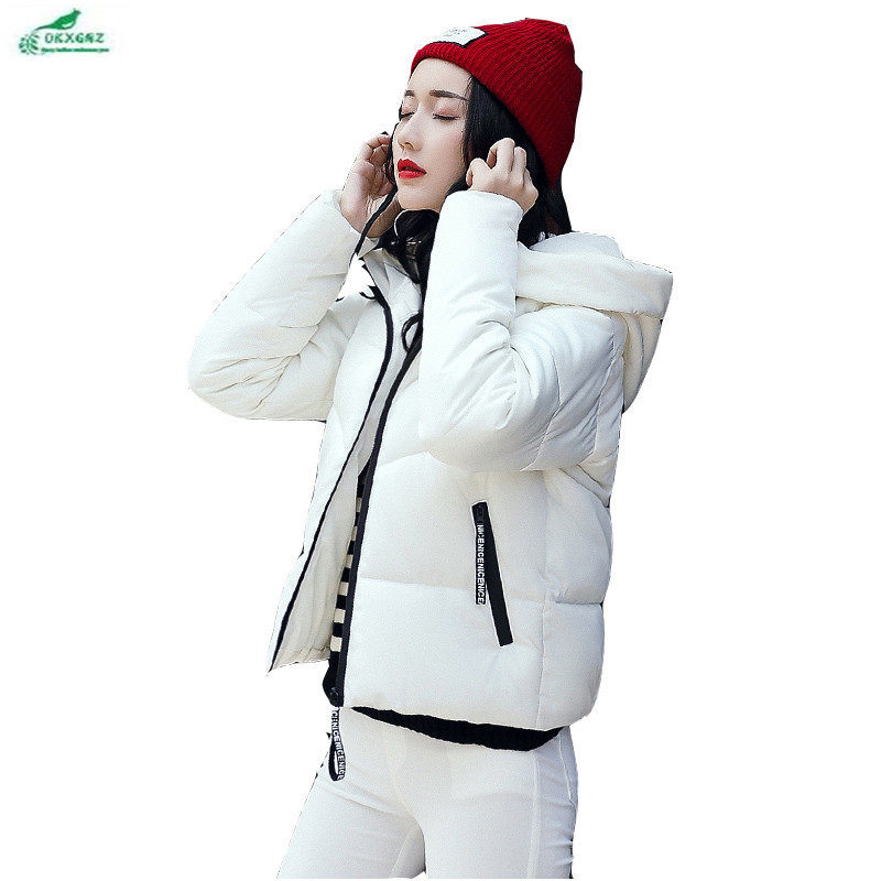 Thick cotton coat female short jacket Korean new Slim fashion winter female Outerwear large size elegant cotton women OKXGNZ1059Îäåæäà è àêñåññóàðû<br><br>