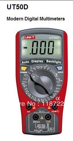 UT50D Modern Digital Multimeter sauto range DCVACV ACC<br><br>Aliexpress