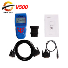 2017 V-Checker V500 Super Car Diagnostic Equipment V500 Code reader V-Checker supports nearly 20 languages Free Shipping(China)