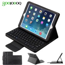 Keyboard Case for iPad Pro 10.5,PU Leather Smart Cover Folio Protective Coque+Tablet Bluetooth Keyboard for iPad Pro 2017 A1701