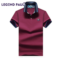 LEGEND PAUL Men Polo Shirt Performance Short Sleeves Polos Clothing Famous Camisetas Vetement Jersey Casual Hombre