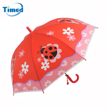 Children Animals Pattern Umbrellas Cartoon Creative Student Umbrella Semi-Automatic Long-handle Umbrella For Kids(China)