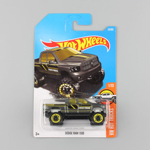 kids scale HW hotwheels truck car styling mini vehicle metal diecast ram 1500 chevy collectible hot wheels toys gifts for babies