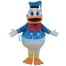 New Donald Duck Mascot Costume Halloween Fancy Dress Free Shipping Adult Size(China)