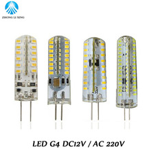 Lowest price LED Bulb SMD 3014 LED G4 LED lamp 3W 5W 6W 9W 12W led Light DC12V AC220V 360 Degree Replace Halogen Lamp