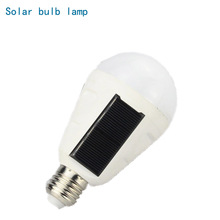 7W 12W Portable Lantern Solar LED Bulb lamp E27 110V 220V Rechargeable Sensor Charge Outdoor Night Emergency Camping Tent light(China)