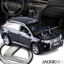 New Lexus RX350 1:32 kids toy pull back sound light car model alloy diecast collection gift luxury car SUV High quality boy