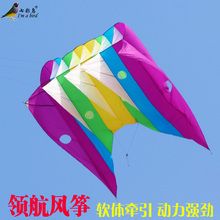 toys ripstop Weifang traction umbrella kite Soft umbrella pilot kite pendant cerf volant parachute kites flying vlieger for adu(China)